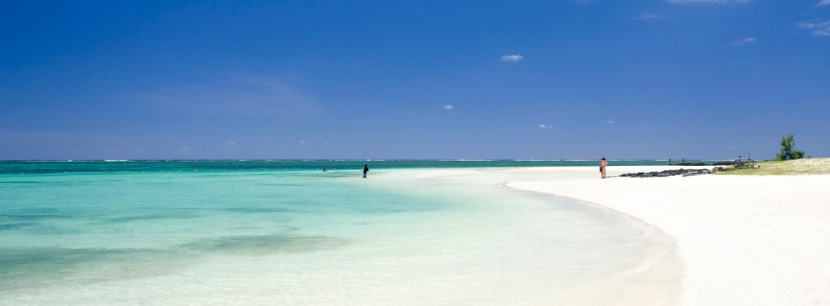 Luxury beach holiday in Mauritius
