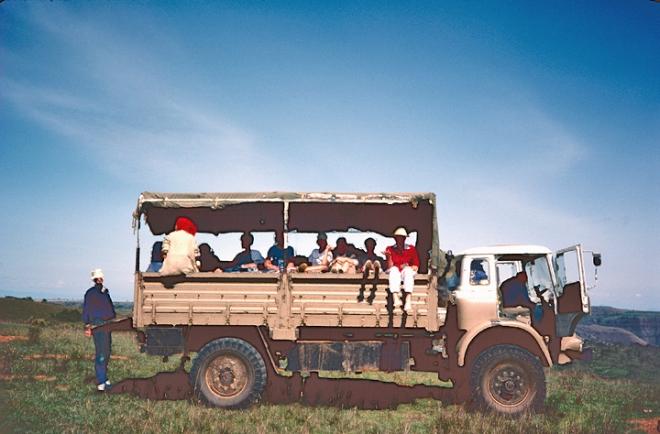 The Turkana Bus (credit: Martin Dunn)