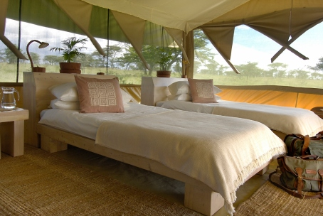 Safari tent at Kicheche Bush Camp