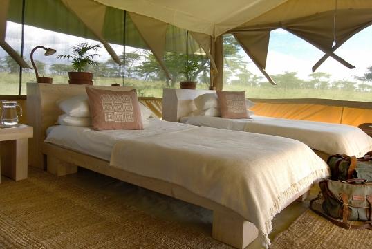Safari tent at Kicheche Bush Camp