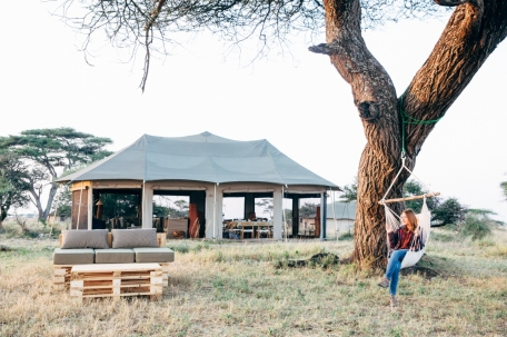 Namiri Plains Safari Camp