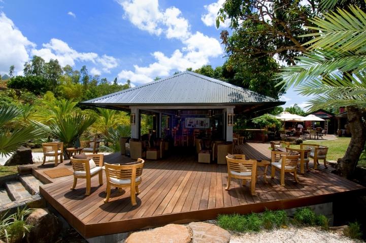 Bar at Lakaz Chamerel