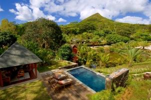 Lakaz Chamarel Garden Pool Suite