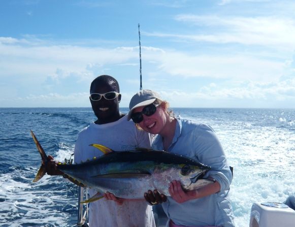 Fishing at Vamizi Island Lodge
