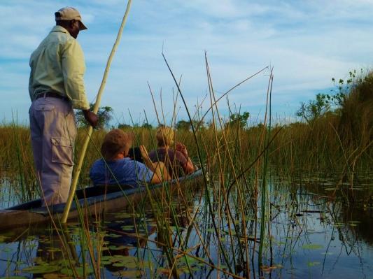 Mokoro trip Okavango Delta