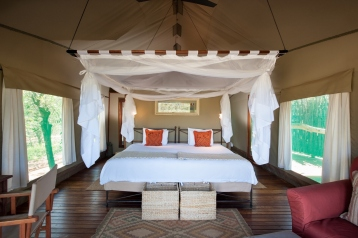Tent at Ongava Tented Camp