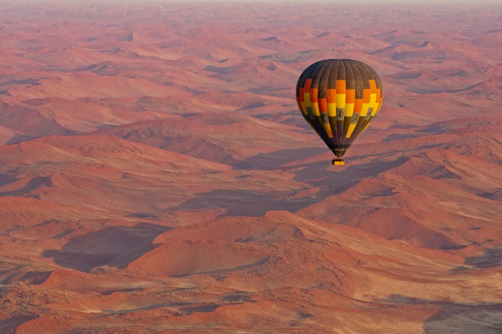 Hot Air Balloon from Kulala Desert Lodge