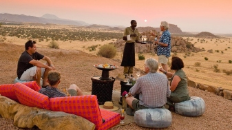 Sundowners at Camp Kipwe