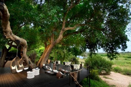 Deck at Lion Sands Ivory Lodge