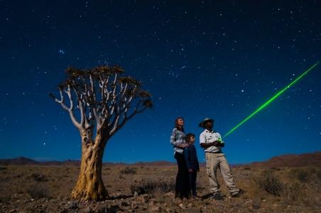 Stargazing at Little Kulala