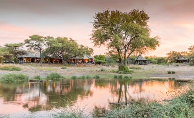 Waterhole at Onguma Tented Camp