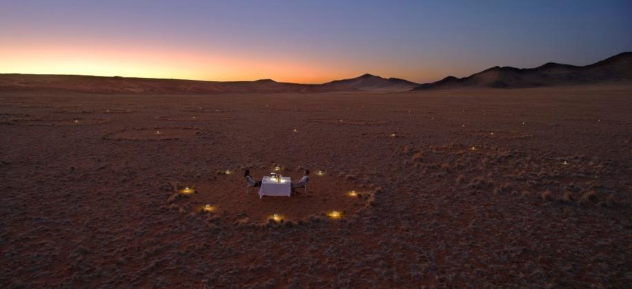 Dinner at Sossusvlei Desert Lodge