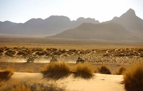 Quadbiking at Sossusvlei Desert Lodge