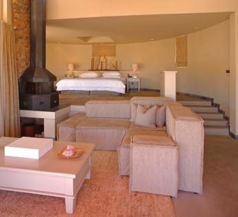 Bedroom at Sossusvlei Desert Lodge