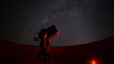 Stargazing at Sossusvlei Desert Lodge