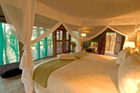 Africa; Zambia; Sanctuary Puku Ridge Camp; Tent Interior