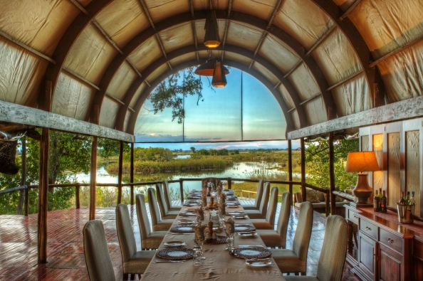 Shinde dining tent