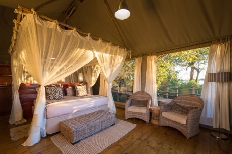 Tent at Jacana Camp