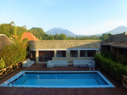 Pool at at Five Volcanoes