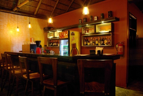 Bar at Five Volcanoes