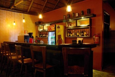 Bar at Five Volcanoes