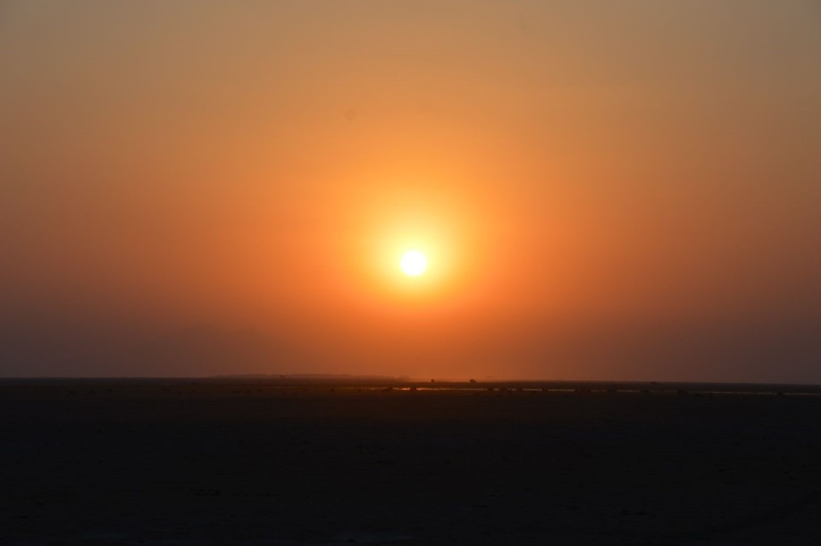 Sunset in Amboseli National Park