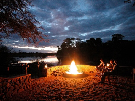 Mvuu Lodge Firepit