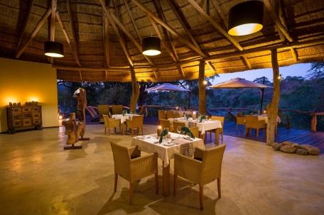 Dining Room at Mkulumadzi Lodge