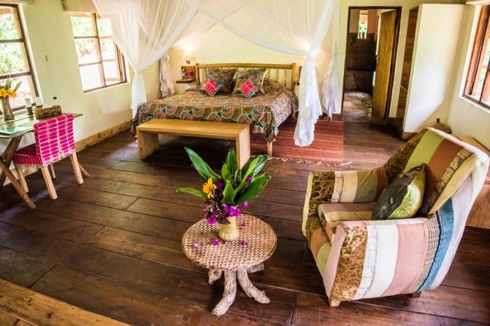 Room at Bwindi Lodge