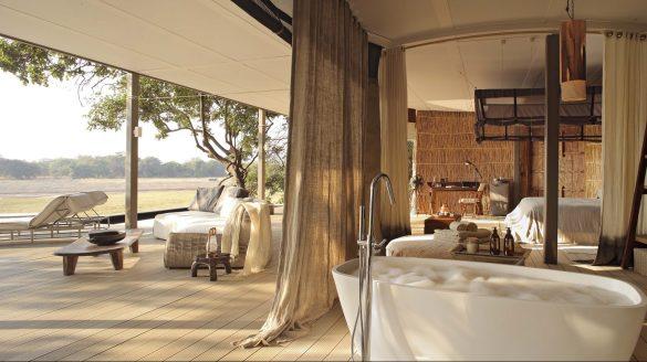 Room at Chinzombo