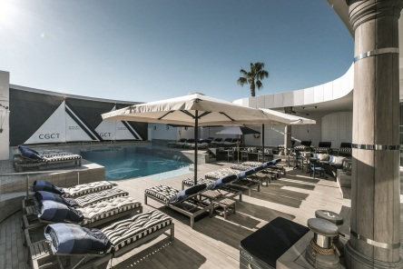Rooftop Pool at the Cape Grace
