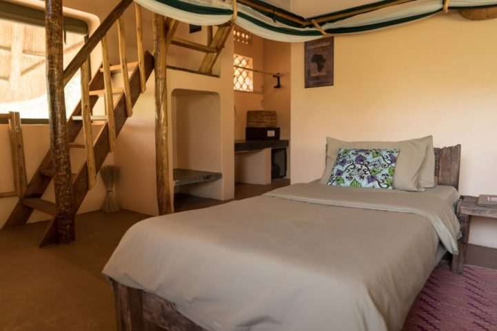 Double Bedroom in a thatched cottage