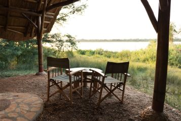 View from a Safari Tent