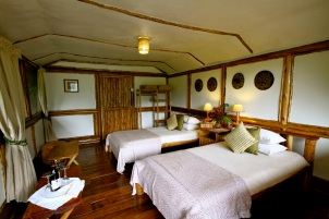 Buhoma Lodge Bedhoom