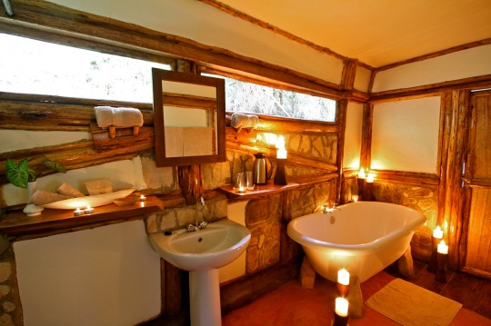 Buhoma Lodge Bathroom