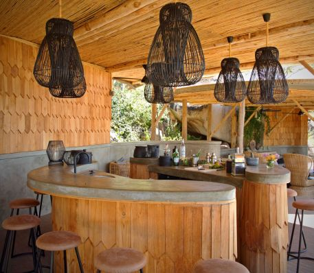 The bar at Jabali