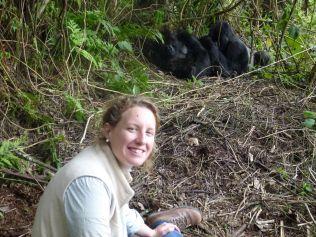 Alex with Gorilla