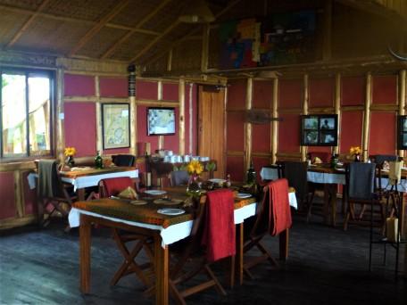 Nkuringo Gorilla Lodge Dining Room