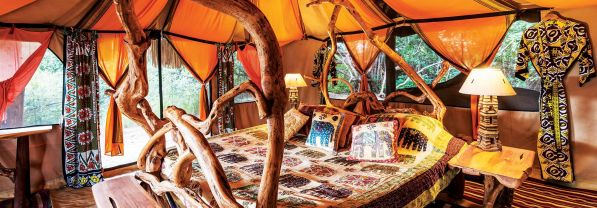 Bedroom in Luxury Tent