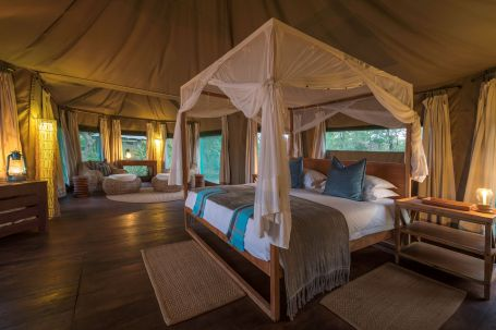 Tented Bedroom