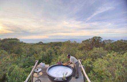 Honeymoon Dome Decking