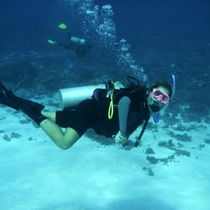 Clare diving
