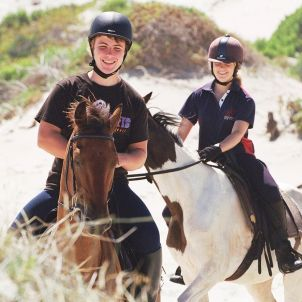 Horse Riding on beach at Grootbos