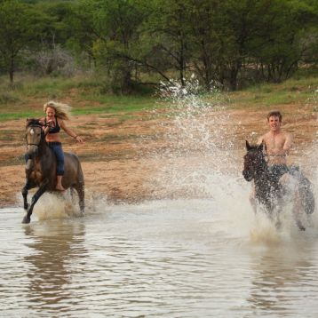 Riding safaris at Ant's Hill