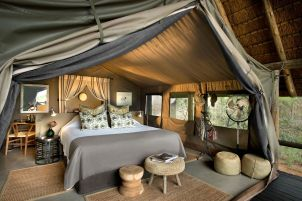 Tented Room