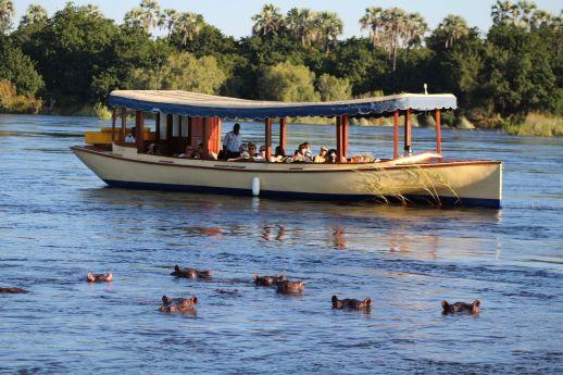 A river cruise aboard Ra-Ikane
