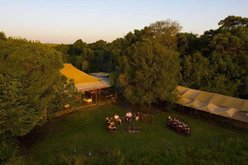 (c) Speke's Camp