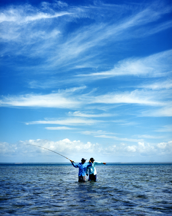 Fishing at Azura Benguerra