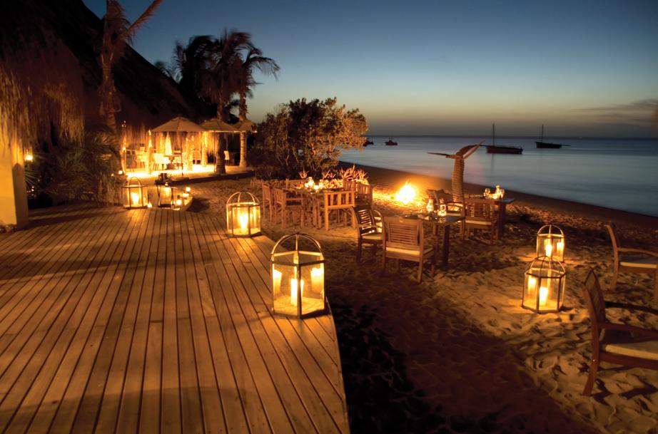 Dusk Beach Dinner Azura Benguerra